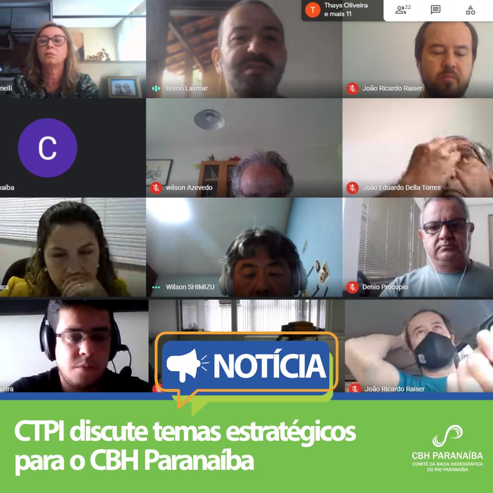 CTPI discute temas estratégicos para o CBH Paranaíba