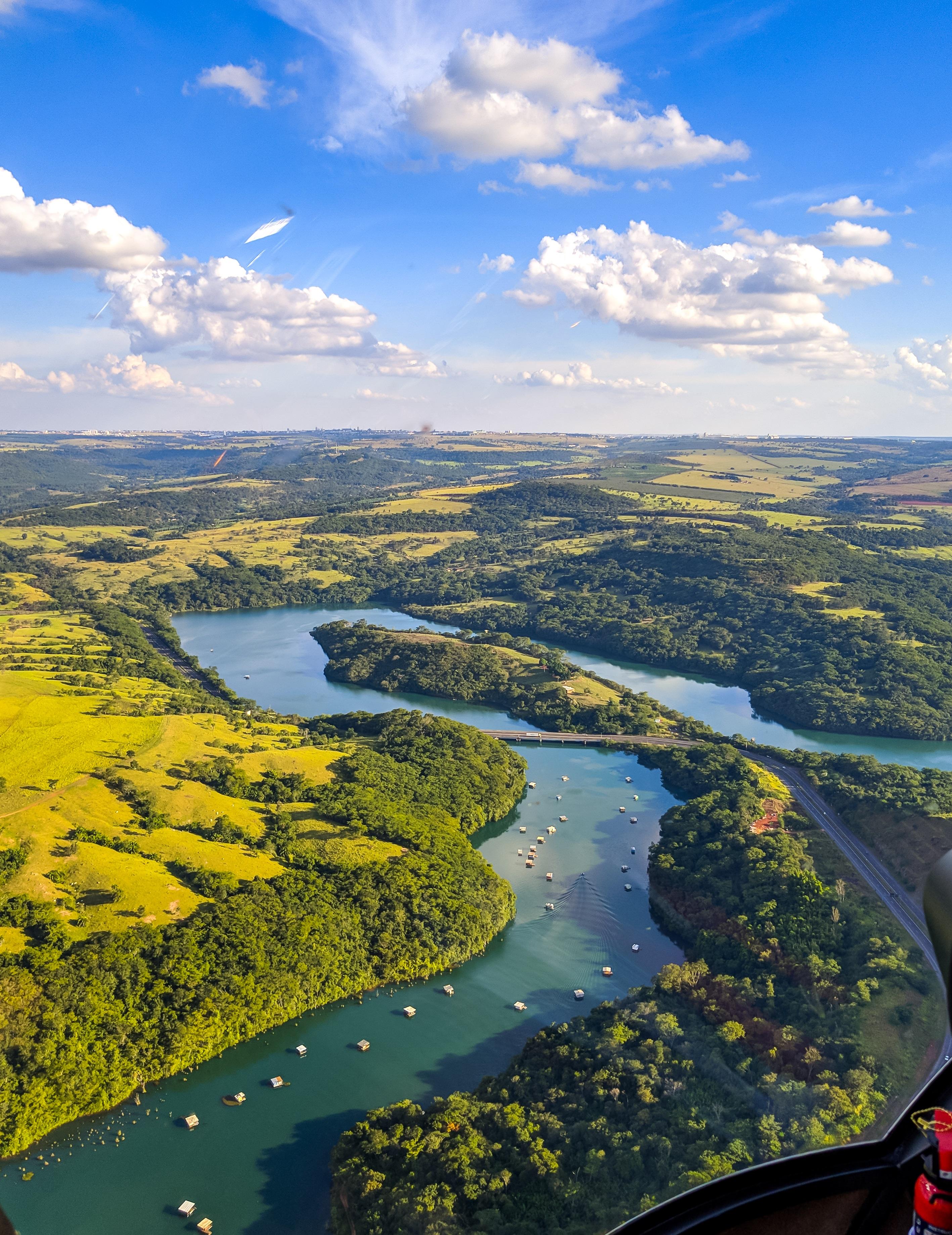 O período de estiagem começou e aumenta preocupação na bacia hidrográfica do rio Paranaíba