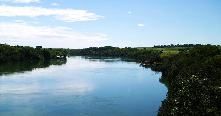 Aquarela Paranaíba - Antiga Ponte JK